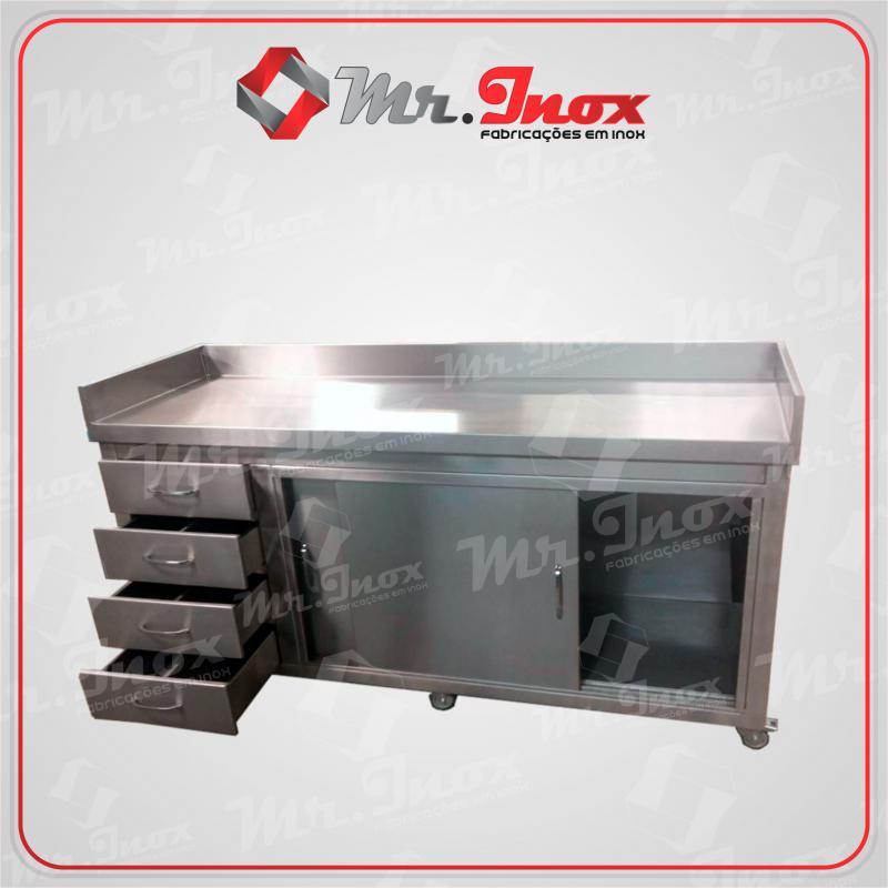 Armário aço inox industrial