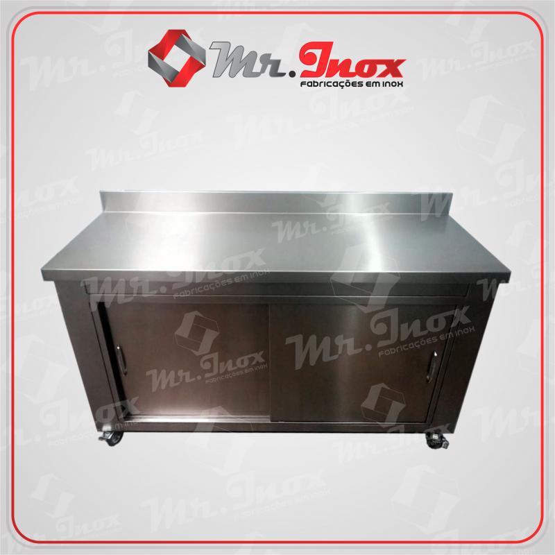 Armário de inox para cozinha industrial preço