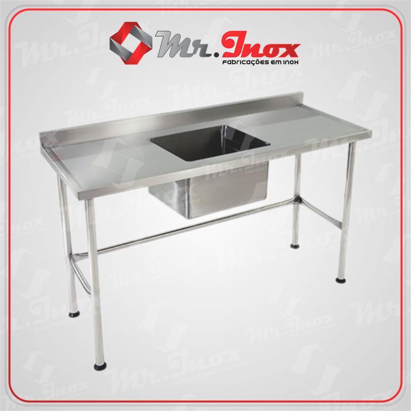 Bancadas de inox para cozinha industrial bh